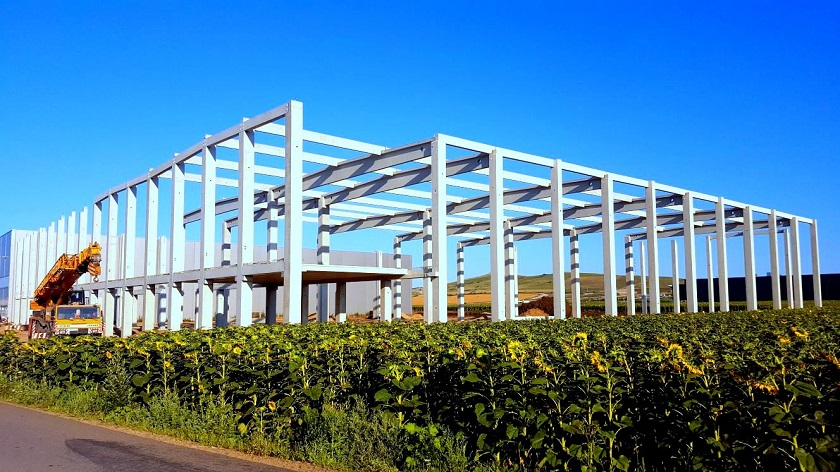 Șantier Hală De Producție și Depozitare CTP Turda