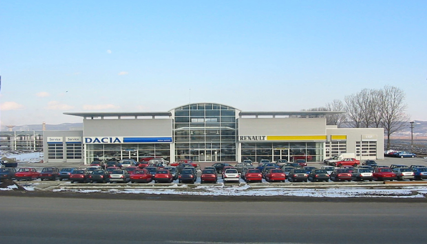 Showroom Dacia Renault Bacau