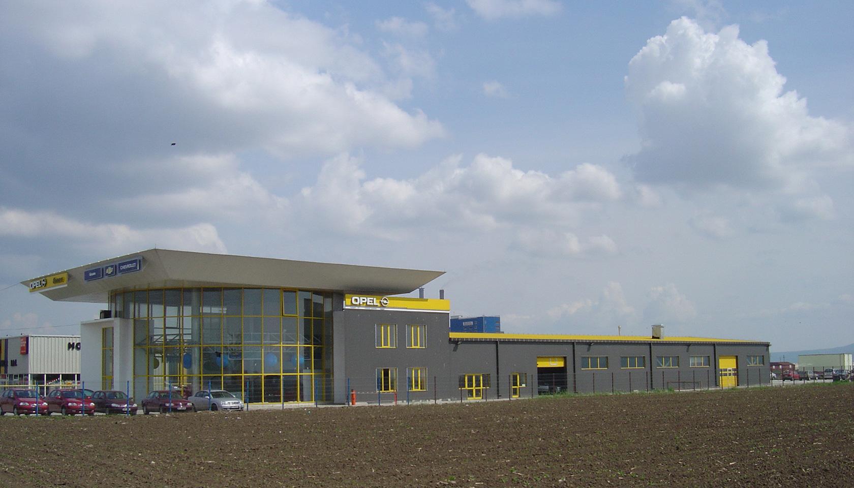 Showroom Opel Bacau