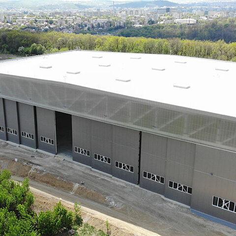 Santier Hangar Aerostar Iasi