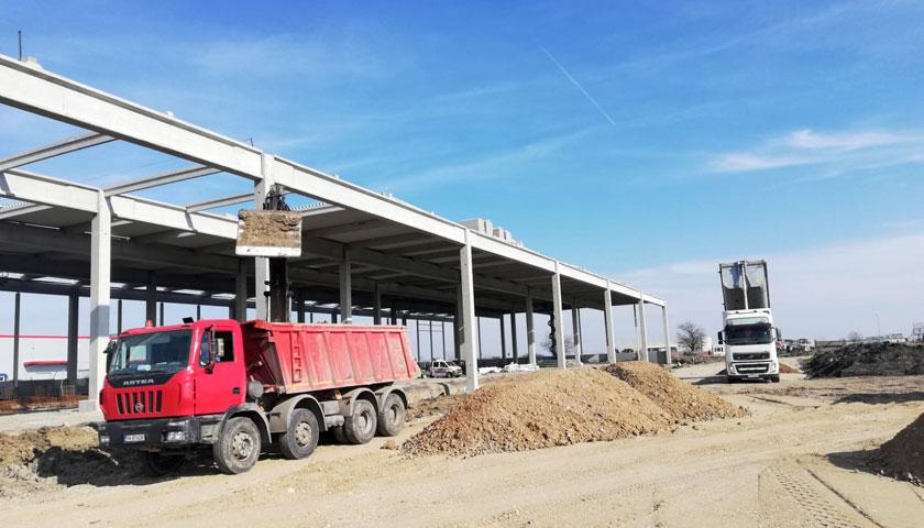 Șantier Parc Industrial Sânandrei ARTEMIS 2