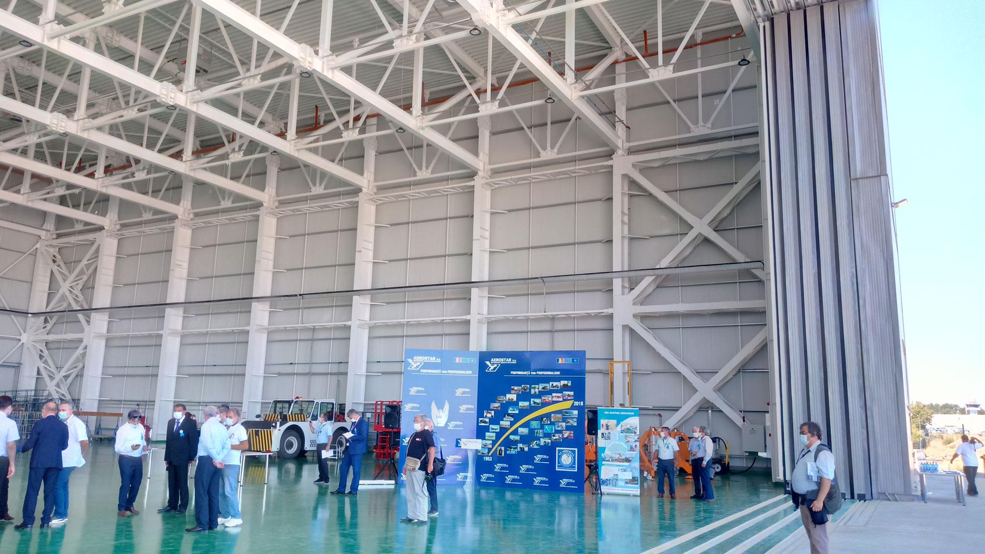 Inaugurare Hangar Aerostar Iași